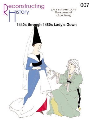 1440 - 1480s Lady's V-Neck Gown