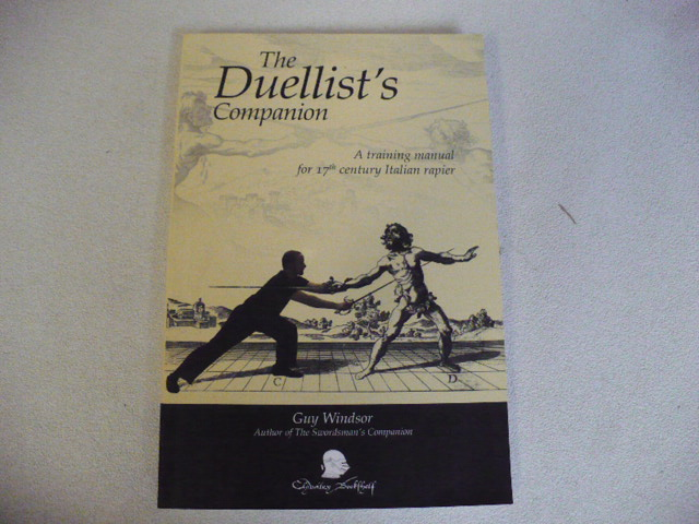 """The Duellist's Companion"" Book by Guy Windsor"