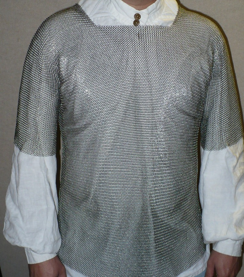 Welded Stainless Steel Maille Shirt