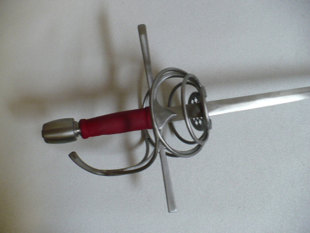 Closed Port Double Ring Hilt