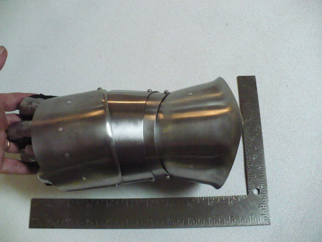 Spring Stainless Steel Gauntlets - Half Finger